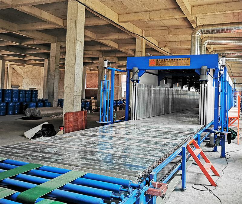 德明机械水平泡发泡设备海绵发泡机械设备生产厂家