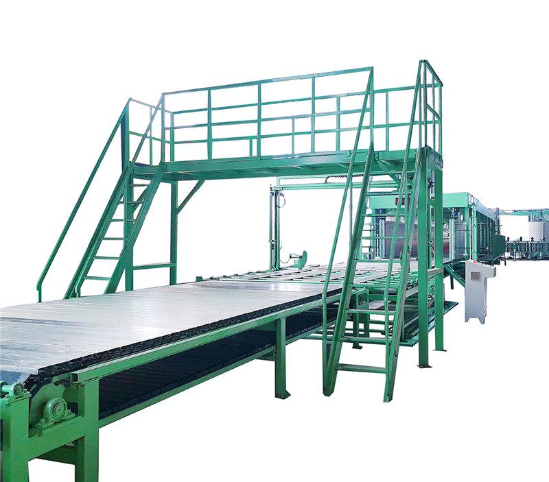 聚氨酯高回弹海绵设备14组分海绵发泡生产线