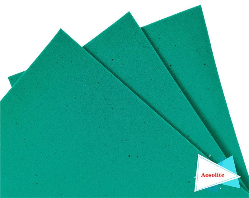 可定制特种海绵欧索莱海绵透气除菌奥索莱PU海绵鞋垫原材料
